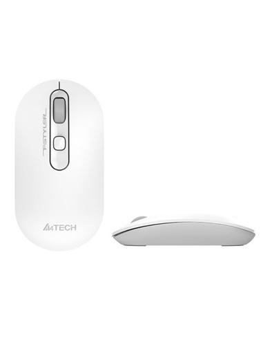 A4 TECH A4 Tech Fg20 Kablosuz 2000Dpi Optic Beyaz Mouse Renkli